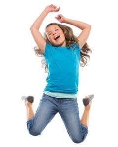 Girl Jumping HKD