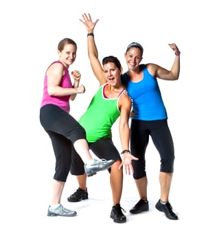 The benefits to group workout classes photo