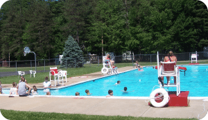 Camp Sherwin Pool Rounded Corners