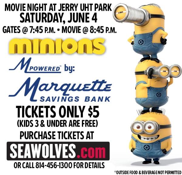 Movie Night at Jerry Uht Park