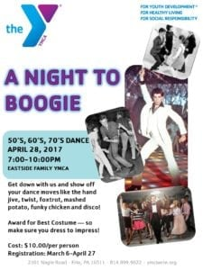 A Night to Boogie @ Eastside Family YMCA | Erie | Pennsylvania | United States