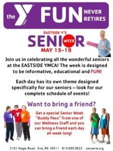 Senior Week @ Eastside Family YMCA | Erie | Pennsylvania | United States