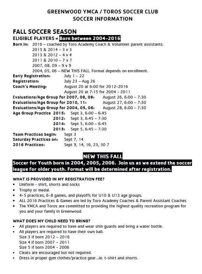 GREENWOOD YMCA – Lakelands Region YMCA
