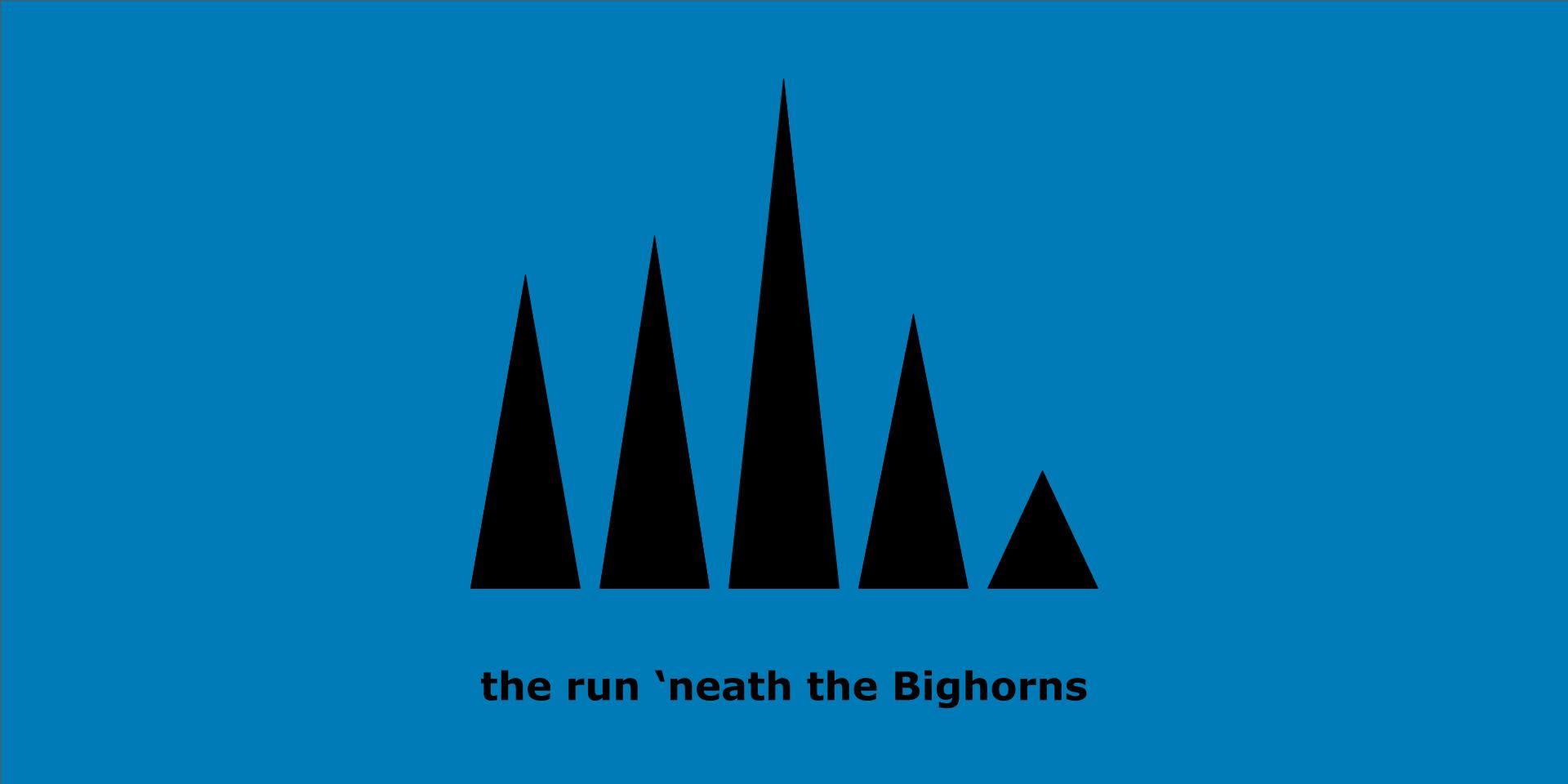 Klondike Rush - the run 'neath the Bighorns