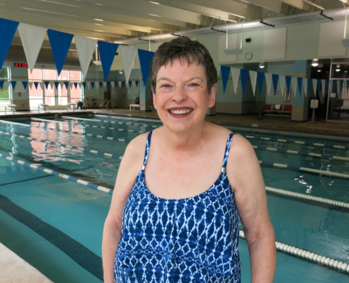"""I learned to swim at age 70 and lost 30 pounds!"""