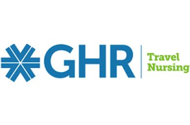 Logo for GHR Travel Nursing