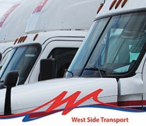 Logo for West Side Transport