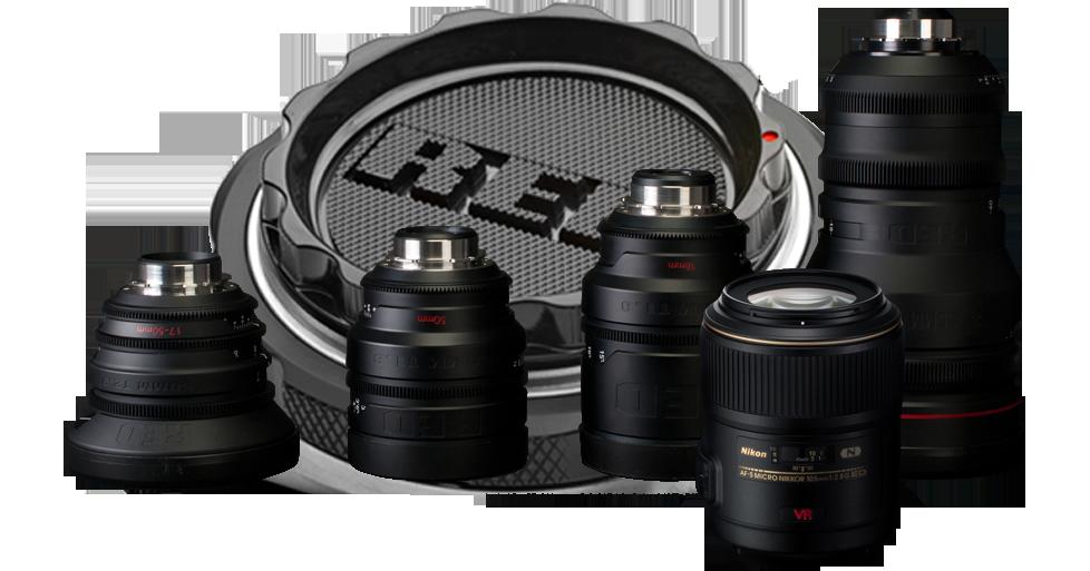 Nikon レンズ、RED PL マウントレンズ
