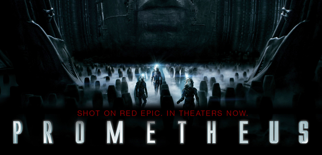 Prometheus in theaters now