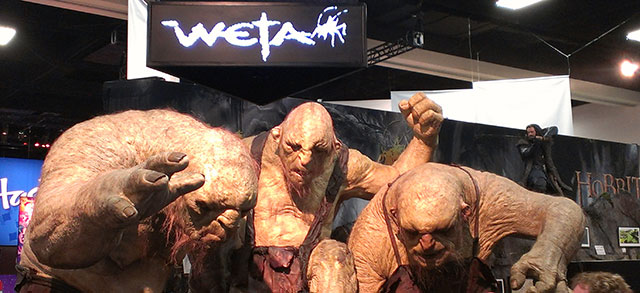 The Hobbit's Trolls from Weta