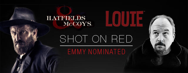 RED Congratulates Emmy Nominees