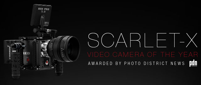 Scarlet-X Selected as Video Camera of the Year by PDN Magazine