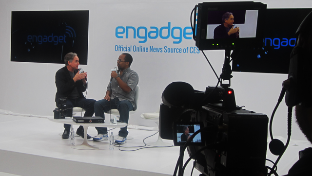 Ted and Engadget talk at CES 2013