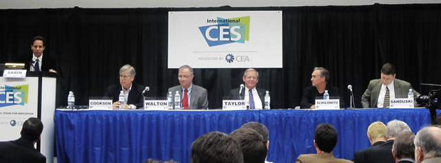 Ted Schilowitz of RED appears on the CES panel Next Gen TV