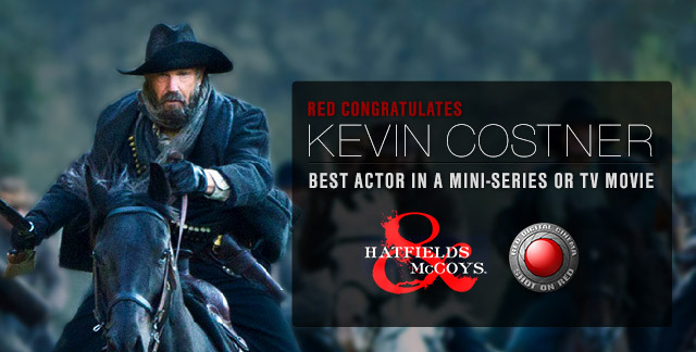 Golden Globe Win for Hatfields & McCoys