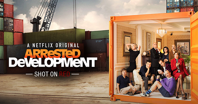 Arrested Development shot on RED cameras