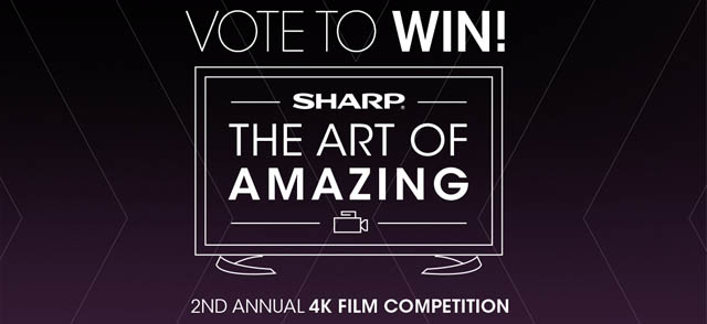 Sharp Art of Amazing 4K Film Competition