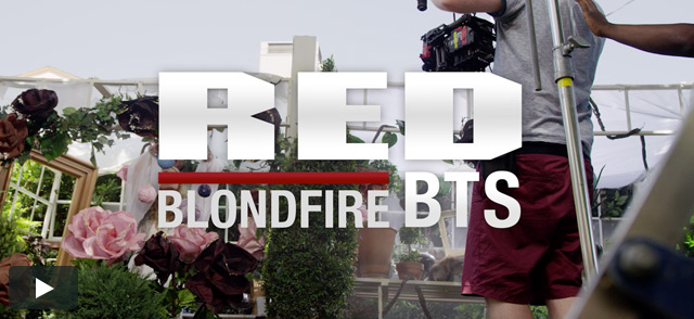 RED BTS: Blondfire