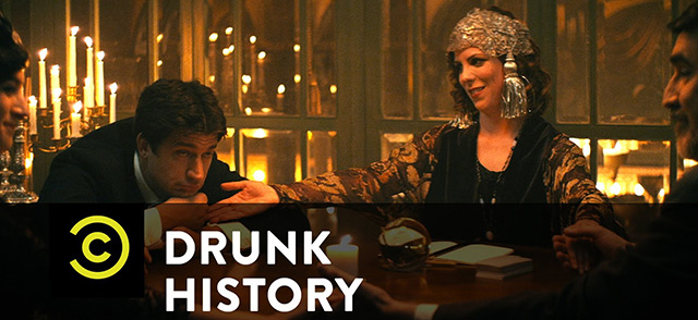 Drunk History Shot on RED