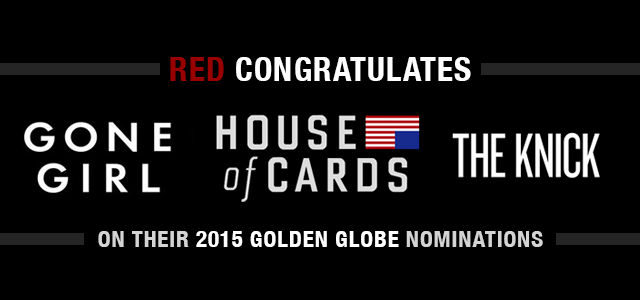 RED Congratulates 2015 Golden Globe Nominees