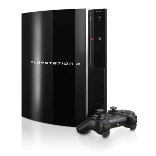 Sony PlayStation 3 40 GB Piano Black Console (PS398006)