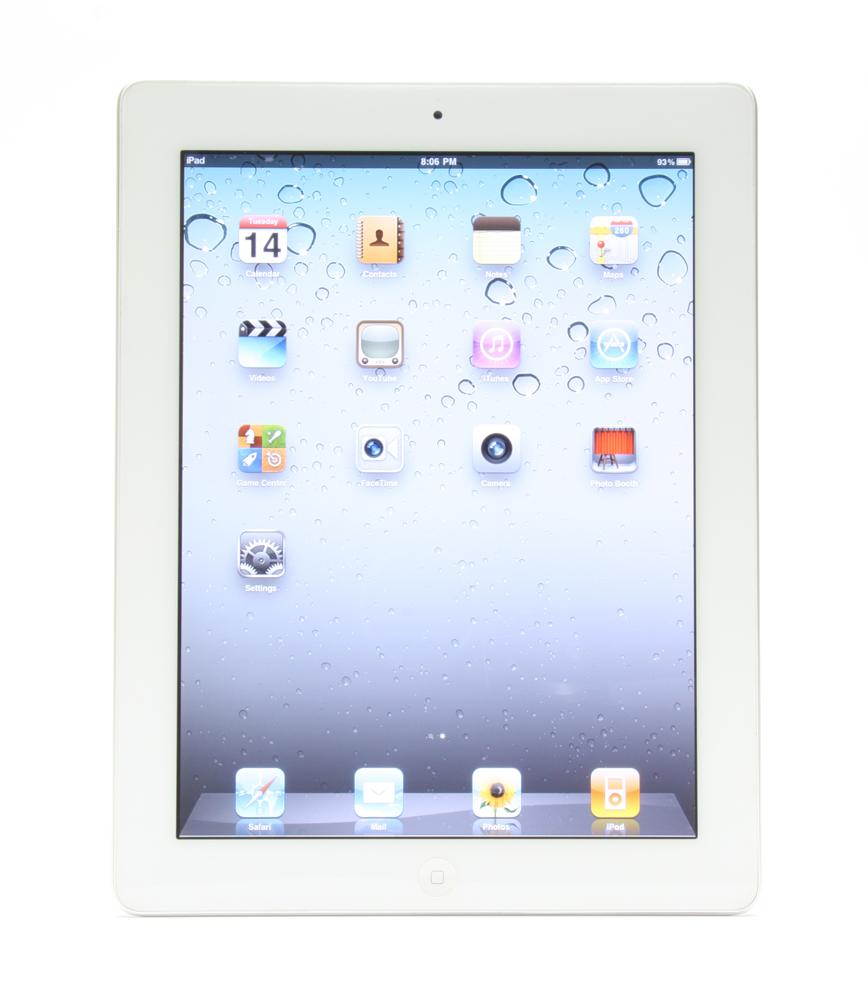 Apple iPad 2 64GB, Wi-Fi, 9.7in - White (MC981LL/A)
