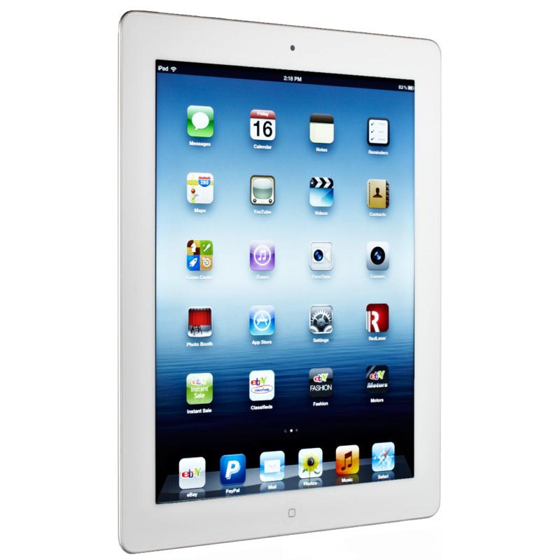 Apple iPad 3rd Generation 64GB, Wi-Fi + 4G Cellular (Verizon), 9.7in - White