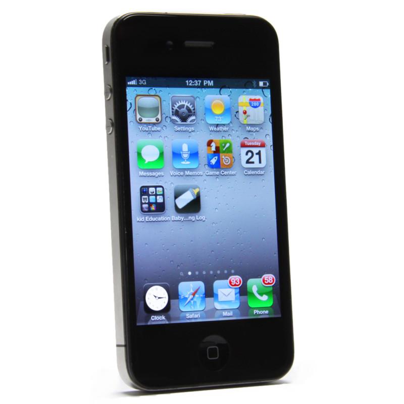 Apple iPhone 4 - 8GB - Black (Unlocked) Smartphone