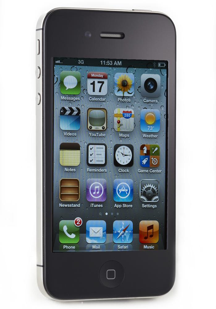 Apple iPhone 4s - 32GB - Black (Factory Unlocked) Smartphone