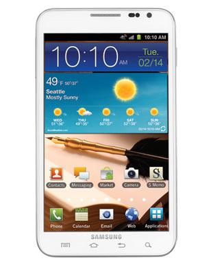 Samsung Galaxy Note SGH-I717 - 16GB - Ceramic White (Unlocked) Smartphone