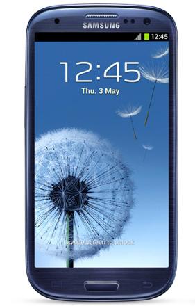 Samsung Galaxy S III SGH-T999 - 16GB - Metallic Blue (T-Mobile) Smartphone