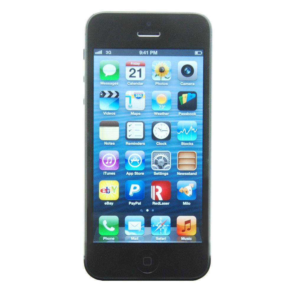Apple iPhone 5 - 64GB - Black & Slate (Verizon) Smartphone
