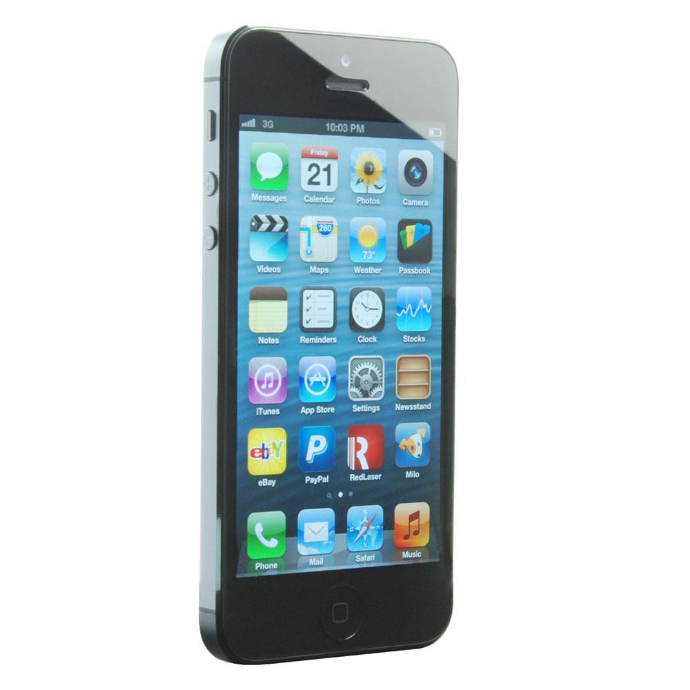 Apple iPhone 5 - 32GB - Black & Slate (Unlocked) Smartphone