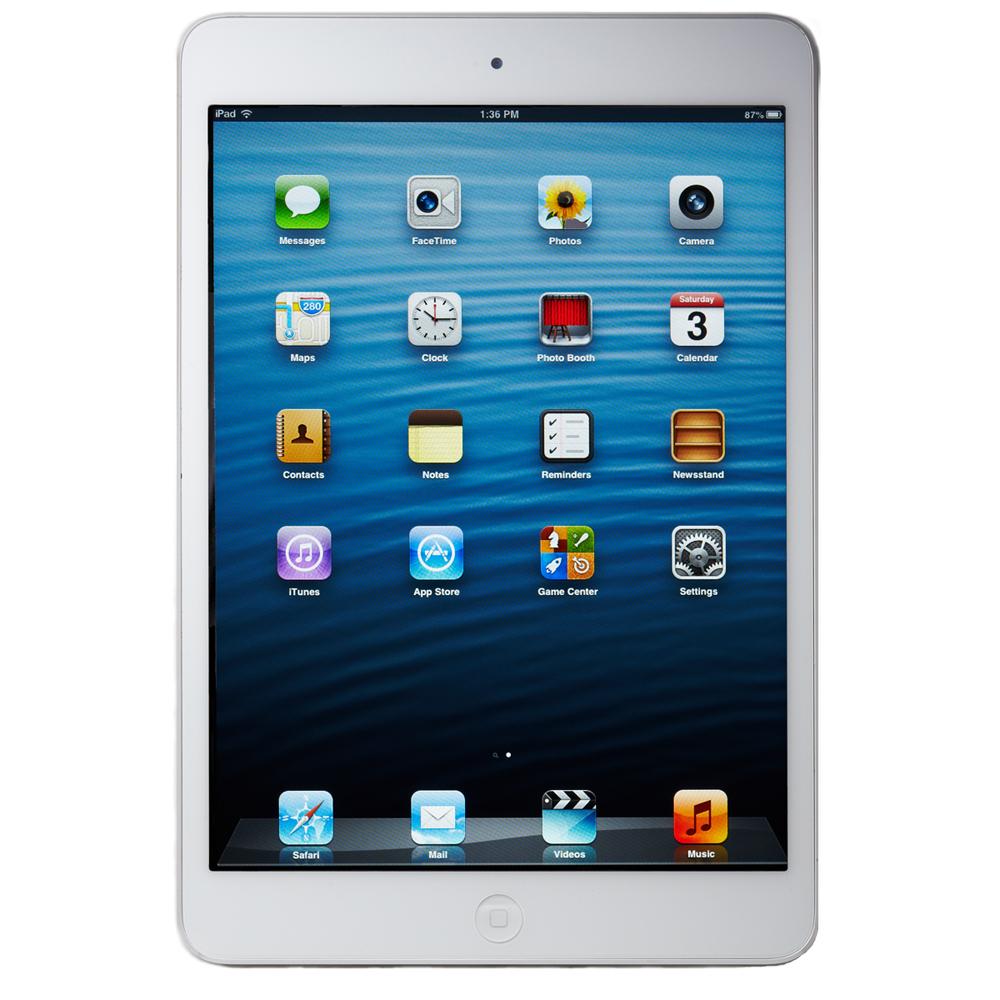 Apple iPad mini 1st Generation 32GB, Wi-Fi + 4G Cellular (Verizon), 7.9in - White & Silver