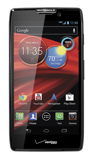 Motorola Droid Razr MAXX HD - 32GB - Black (Verizon) Smartphone