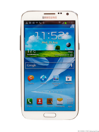 Samsung Galaxy Note II SGH-I317 - 16GB - Marble White (AT&T) Smartphone