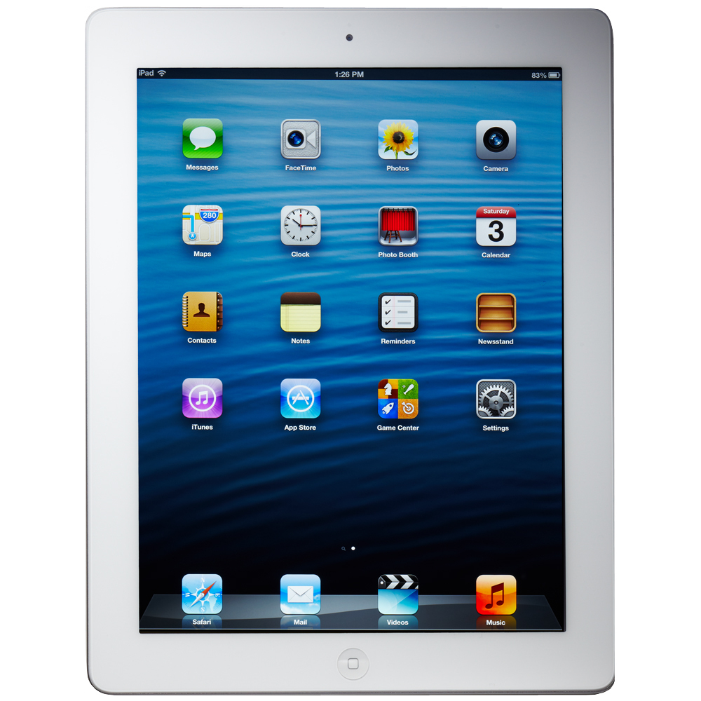 Apple iPad 4th Generation 16GB, Wi-Fi + 4G Cellular (Verizon), 9.7in - White