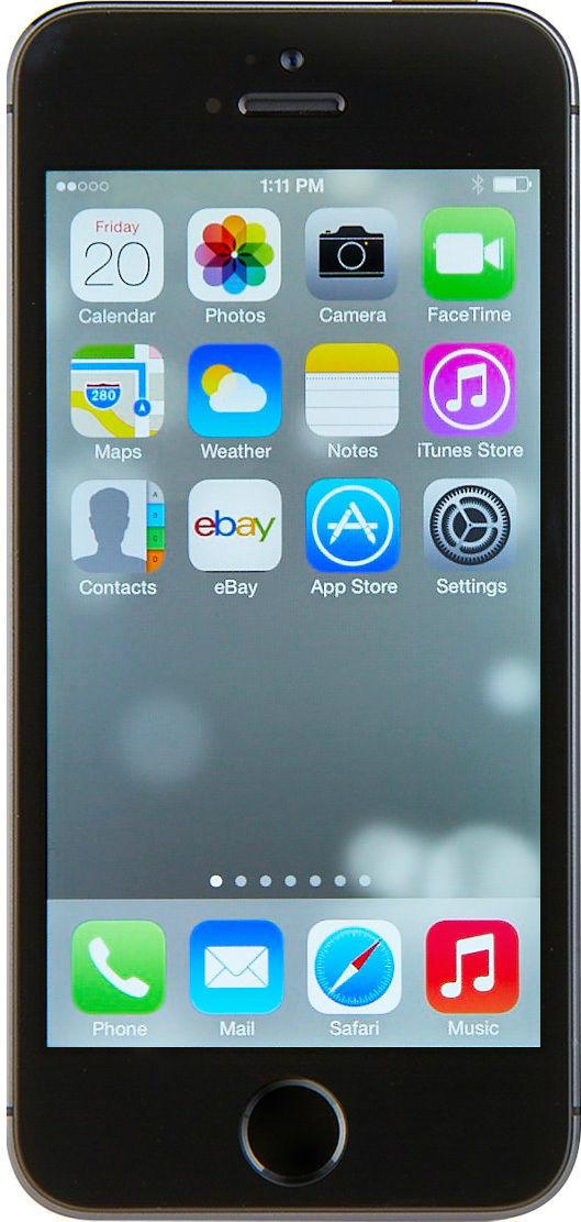 Apple iPhone 5s - 64GB - Space Gray (Unlocked) Smartphone