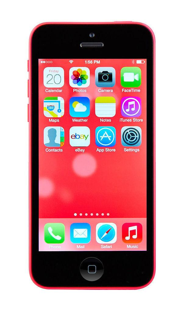Apple iPhone 5c - 32GB - Pink (Factory Unlocked) Smartphone