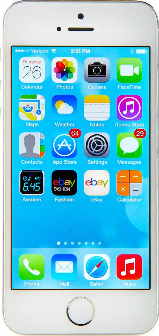 Apple iPhone 5s - 64GB - Silver (Sprint) Smartphone