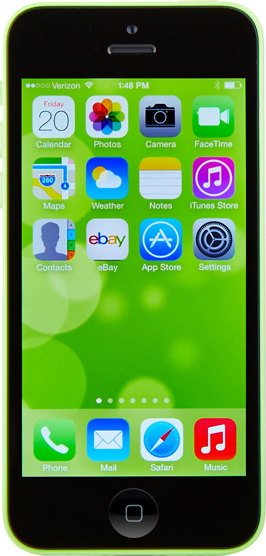 Apple iPhone 5c - 16GB - Green (AT&T) Smartphone