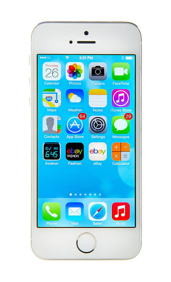 Apple iPhone 5s - 64GB - Silver (T-Mobile) Smartphone