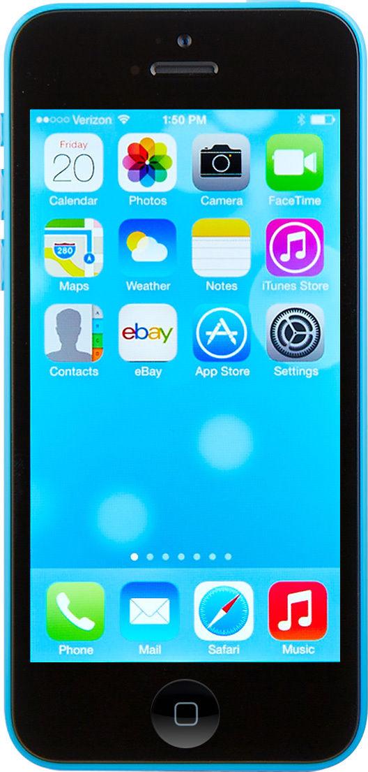 Apple iPhone 5c - 16GB - Blue (AT&T) Smartphone