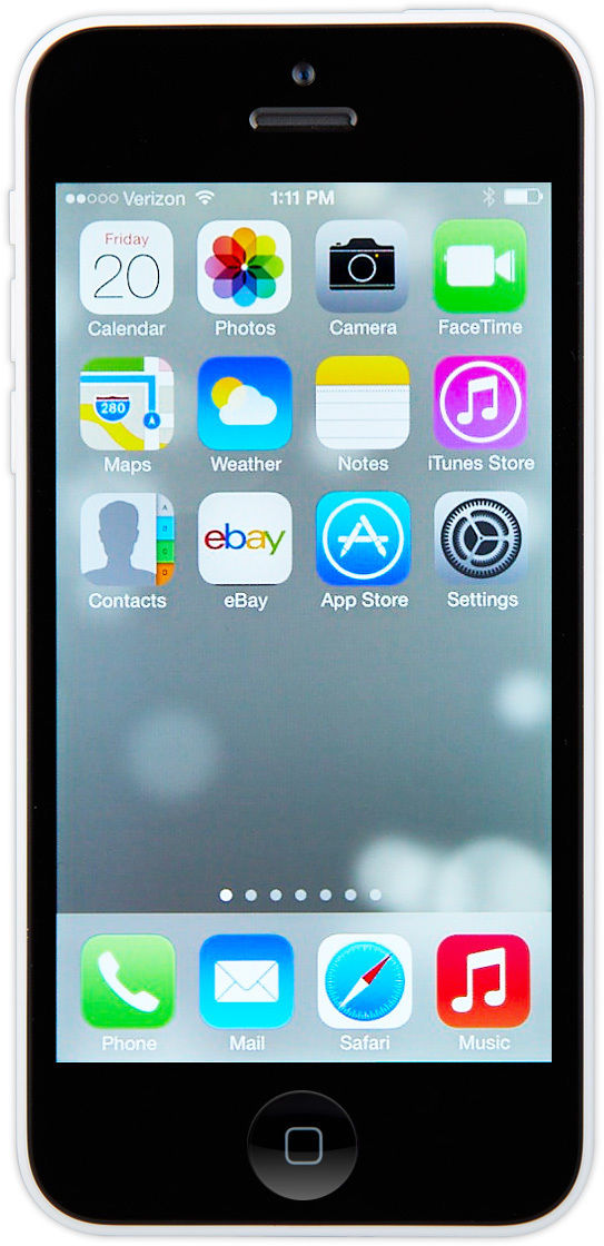Apple iPhone 5c - 32GB - White (AT&T) Smartphone