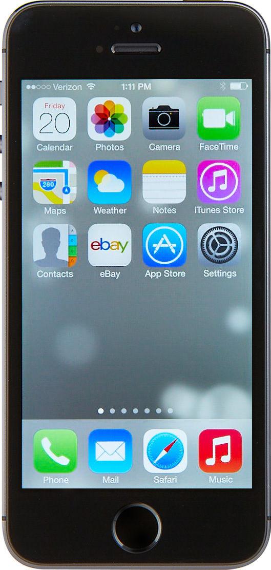 Apple iPhone 5s - 64GB - Space Gray (Verizon) Smartphone