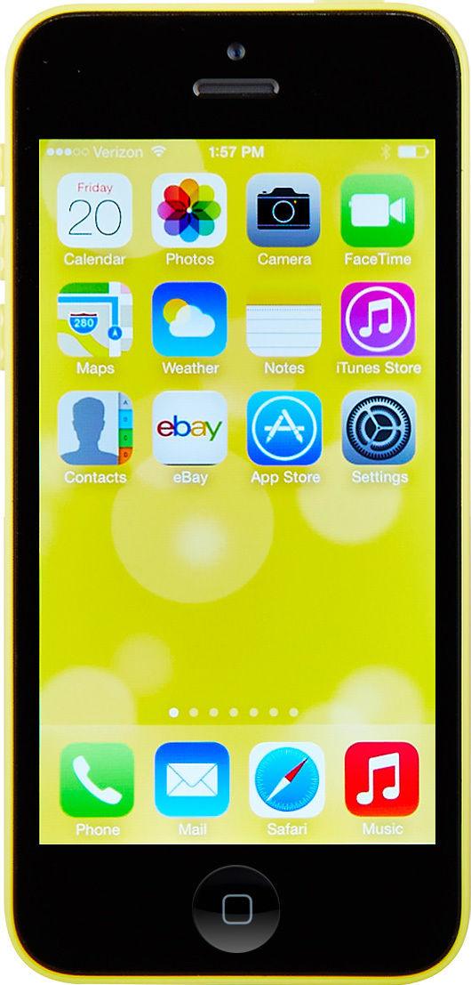 Apple iPhone 5c - 16GB - Yellow (T-Mobile) Smartphone