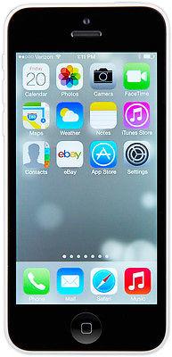 Apple iPhone 5c - 16GB - White (Sprint) Smartphone