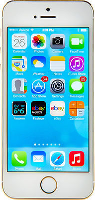 Apple iPhone 5s - 32GB - Gold (Factory Unlocked) Smartphone