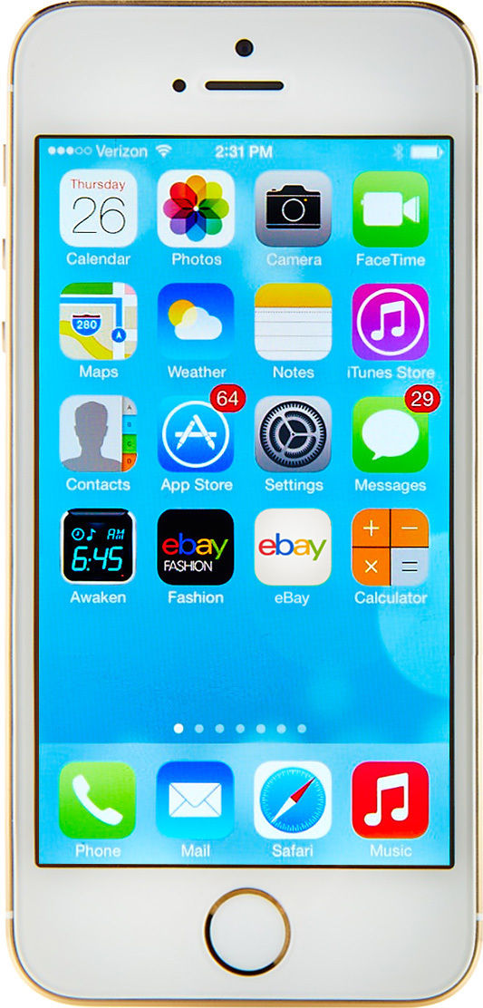 Apple iPhone 5s - 16GB - Gold (Factory Unlocked) Smartphone