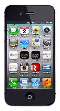 Apple iPhone 4s - 8GB - Black (Verizon) Smartphone